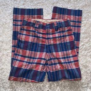 🔻Paul Ressler Plaid Vintage Pants